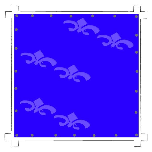 Batik Wax on cotton fabric